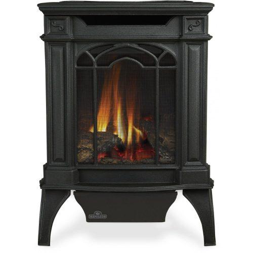 Napoleon GVFS20 Arlington Cast Iron Natural Gas Stove – Black